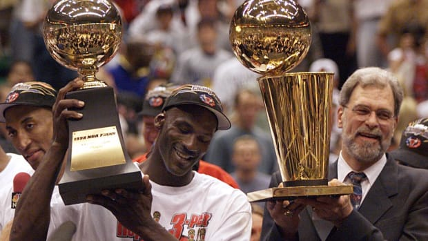 Michael Jordan and the Chicago Bulls will again be a part of a documentary series this time in podcast form.