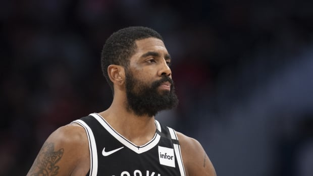 Kyrie Irving is again receiving criticism for his actions.