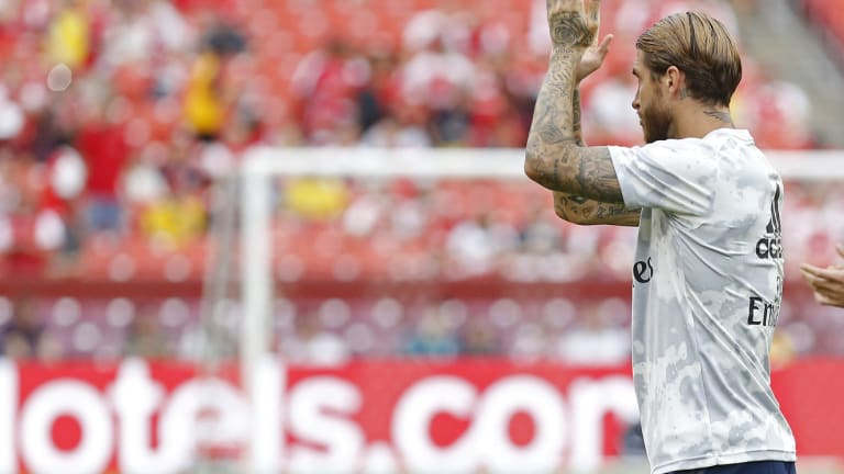 Sergio Ramos' Absence Means a Notable First for Spanish National Team