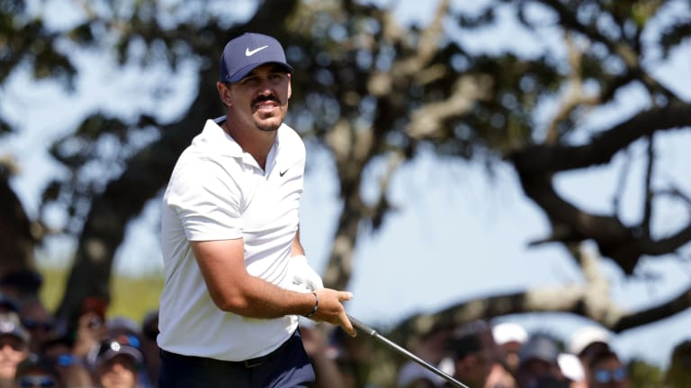 Brooks Koepka Sounds Pretty Pissed About the Crowds at the PGA Championship