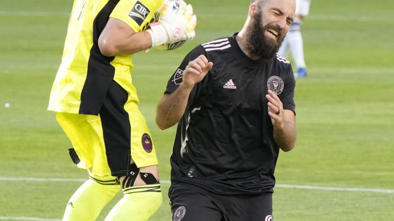 MLS Smacked the Cigarette Out of Gonzalo Higuain's Mouth