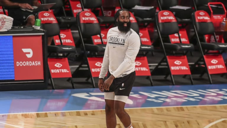 What's Up With This Hella Weird James Harden-Lil Baby Moment?