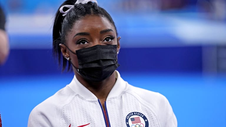 US Gymnast Simone Biles Withdraws from Individual All-Around Finals
