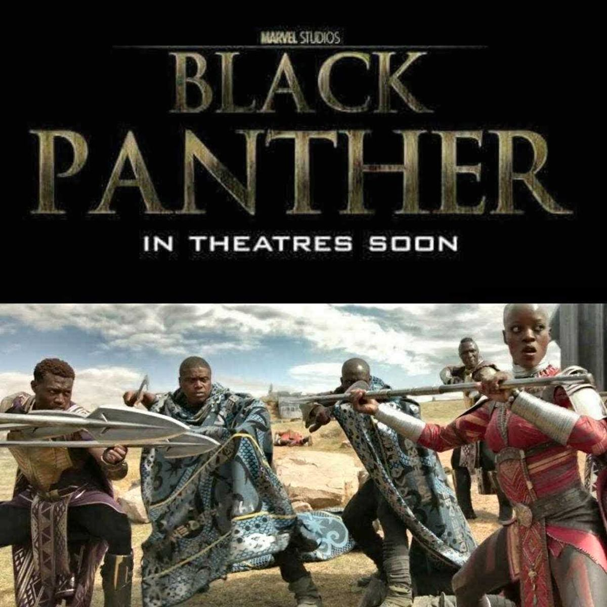 """Tony Todd on the set of """"Black Panther."""""""