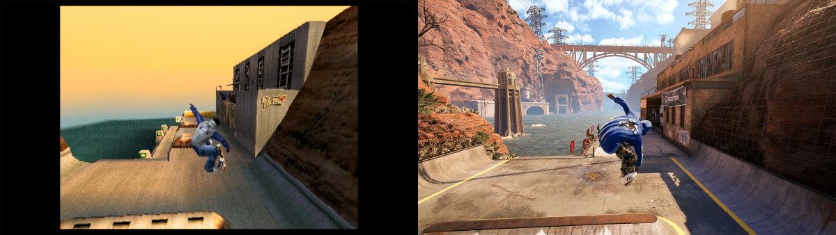 TonyHawksProSkater1-2_RevealScreenshot_KareemCampbell_Before_and_After