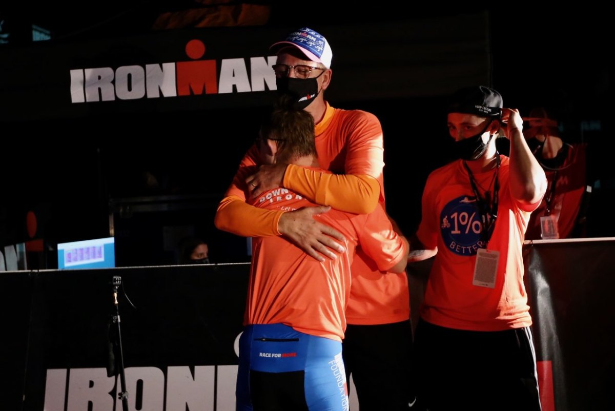 Chris Nikic makes history becoming the first person with Down syndrome to complete an IRONMAN.