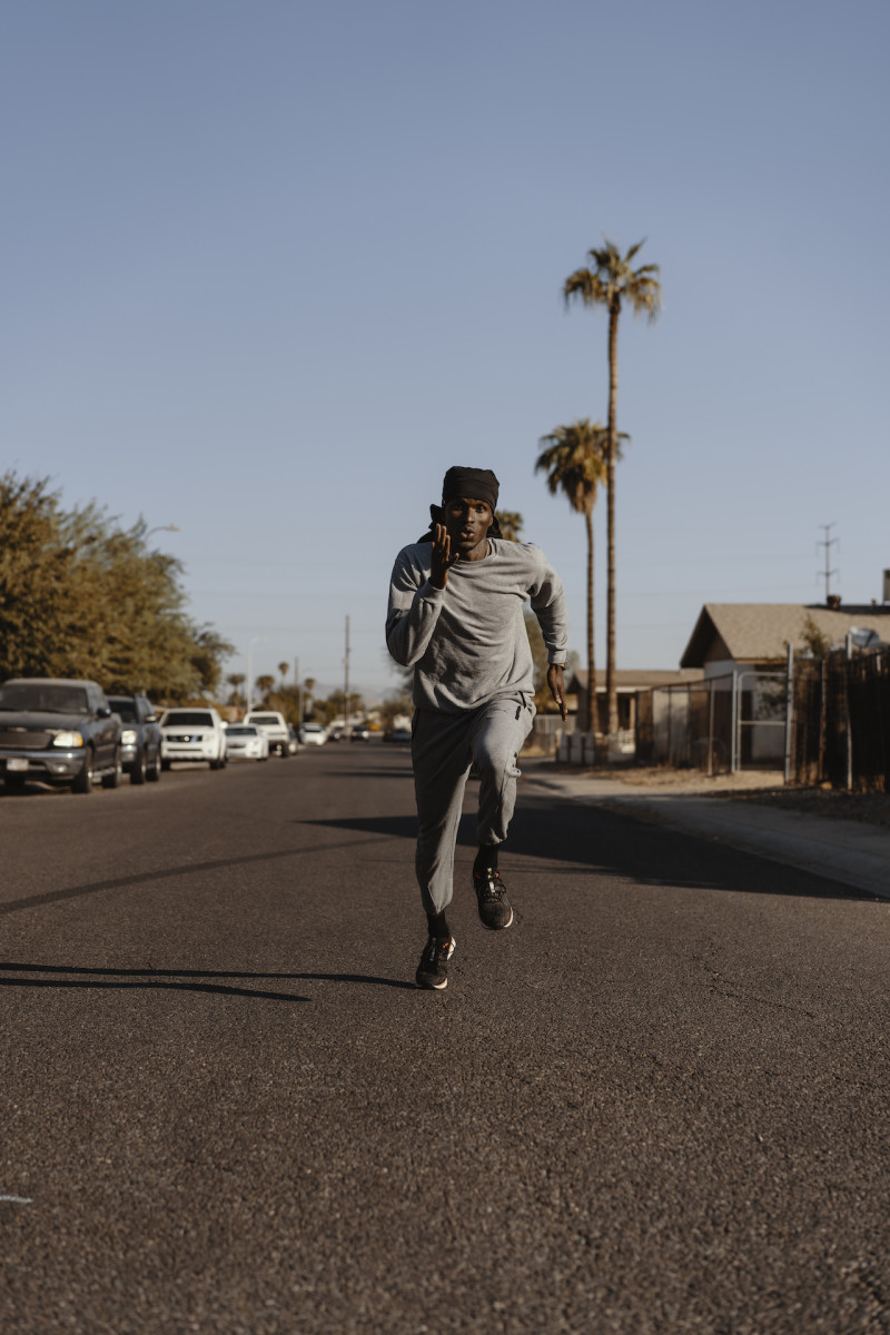 Will Claye in the documentary 'Elevate.'